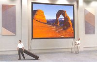 Giant Outdoor Easy Fold Projection Screen