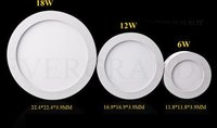 Round Dimmable Led Panel Light