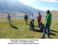 Kullu - Manali Adventure Tour Package