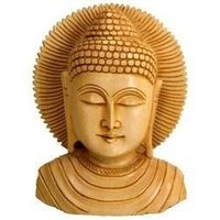 Wooden Lord Buddha Idols