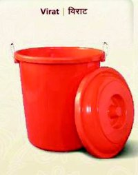 Plastic Red Color Bucket
