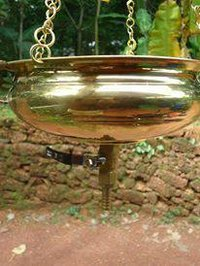 Brass Shirodhara Pot