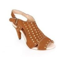 Ladies Leather Beaded Sandals