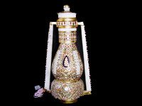 Designer Marble Lantern