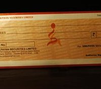 Cheque Book Printing Service