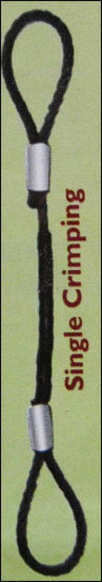 Wire Rope With Metal Protector (Single Crimping)