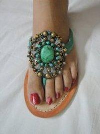 Ladies Bead Sandal
