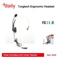 Noise Canceling Call Center Headset