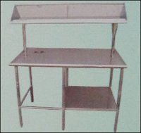 Dirty Dish Landing Table With Garbage Chute (Rw 2)