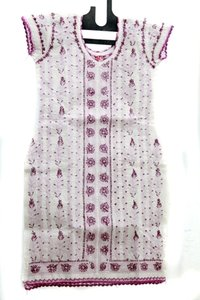Designer Short Sleeve Kurti