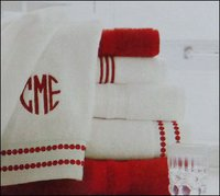 Durable Embroidered Towels