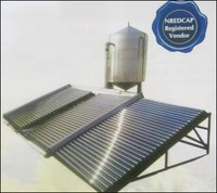 Solar Water Heating With Ss 304 Steel Tank
