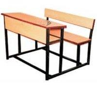 Fine Finish Three Seater School Bench