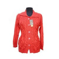 Fancy Collar Neck Ladies Cardigan