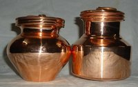 Copper Gangajal Container