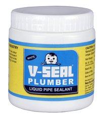 V-Seal Plumber White Liquid Pipe Sealants
