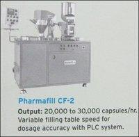 Semi Automatic Capsule Filling Machine (Pharmafill Cf-2)