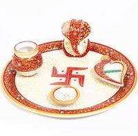 Traditional Pooja Plate