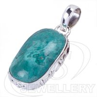 925 Silver Pendant In Turquoise