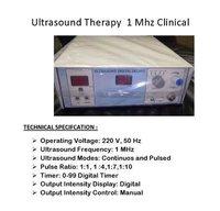 Ultrasonic Unit Digital In Deluxe Model