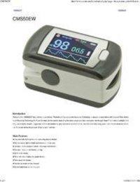 Fingertip Pulse Oximeter Km Cms50e