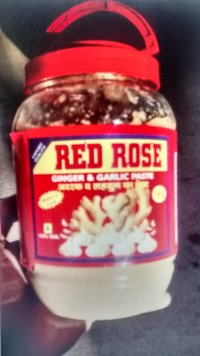 Red Rose Ginger Garlic Paste