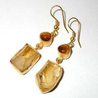 Stylish Rough Stone Earring