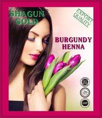 Burgundy Hair Color Henna