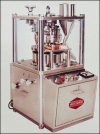 Accura Mini Press Table Top Square GMP Single Rotary Tablet Press Machine