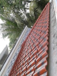 China 2016 Hot Double Color Ceramic Roofing Tiles Wz136