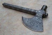 Custom Damascus Handmade Axe