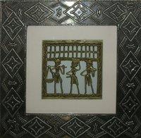 Metal Wall Art Dhokra Panting