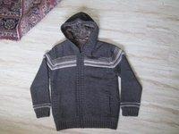 Hooded Woolen Sweater