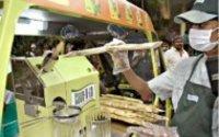 Commercial Sugar Cane Juice Machine