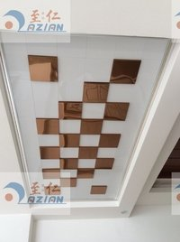 0.48mm Tawny Aluminum Plate Ceiling Tiles