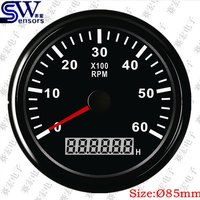 85mm Pointer Type Tachometer 0-6k