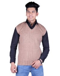Mens Winter Sleeveless Sweater