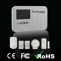 Gsm Intelligent Alarm System Wireless With Led Display