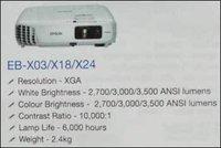 Business Projectors (Model No. EB-X03/X18/X24)