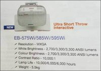 Ultra Short Throw Interactive Business Projector