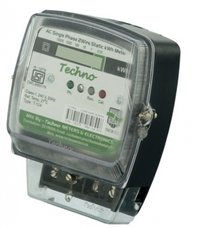 Single Phase Static Energy Meter With LCD Upto 40 AMPS