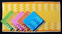 100% Cotton Jacquard Dyed Bath Towel (30 X 60)
