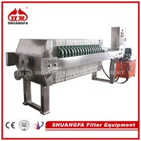 Chamber Sludge Dewatering Machine