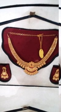 Women Pure Gold Necklace