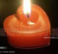 Heart Shape Tea Candle Outer Shell