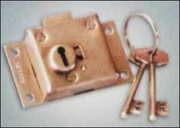 Shatter Side Gate Lock (Brass Body)