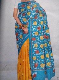 Kantha Stitch Sarees