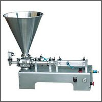 Cream And Ointment Filling Machines
