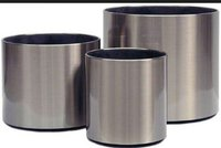 Stainless Steel Planters (CII03)