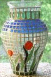 Mosaic Flower Pots (CII65)